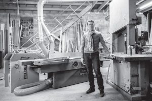 fabrication porte ancienne menuisier