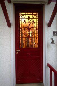 reproduction isolante d'une porte ancienne